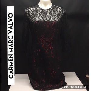 $680 New Carmen Marc Valvo